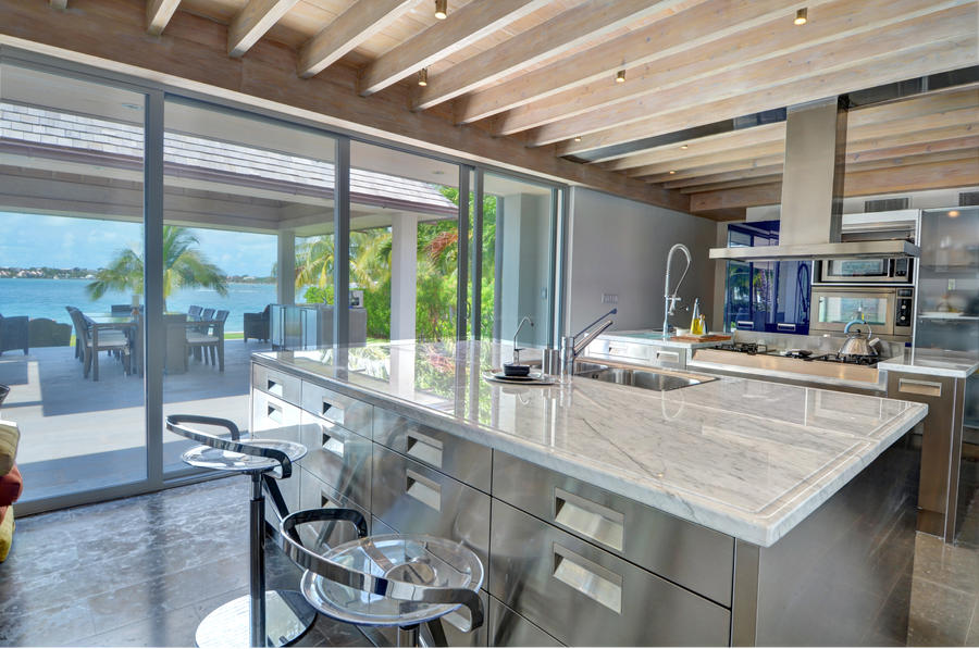Kitchen for a chef