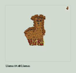 Llama of All Llamas by ModernHippy