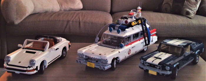Lego Cars, Roll Out!