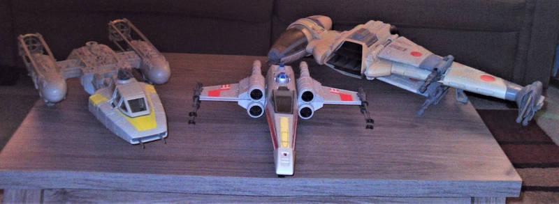 Star Wars Memories:  Original Rebel Fighters