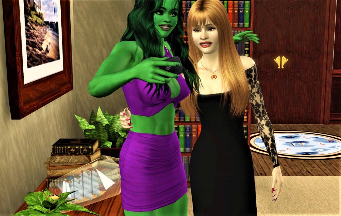 Gege Finally Meets Jessie The She-Hulk