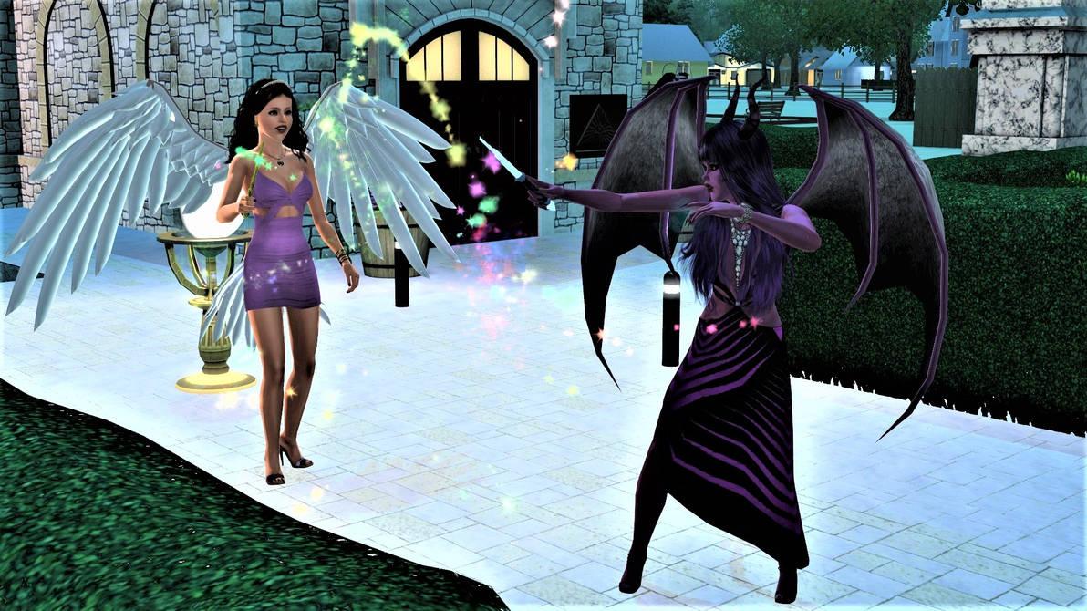 Vasilisa The Demoness Teaches Sirafima Magic