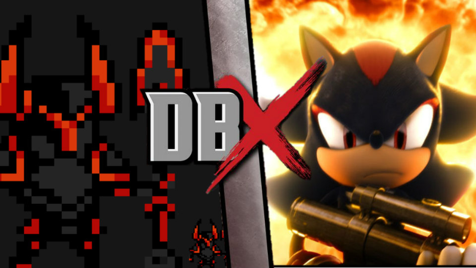 DBX: Black Knight Vs Shadow The Hedgehog By Trident346 On