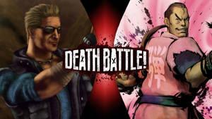 Johnny Cage vs Dan Hibiki