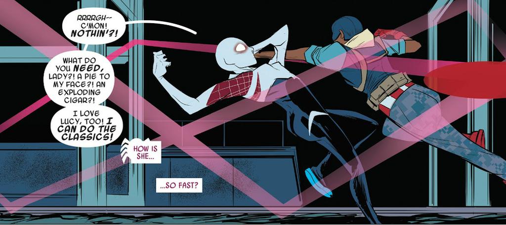 Spider-Gwen Speed by Trident346