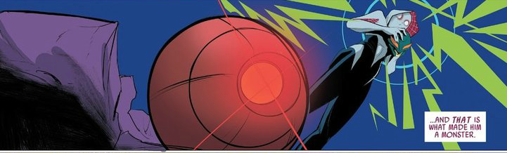 Spider-Gwen Spider-Sense by Trident346