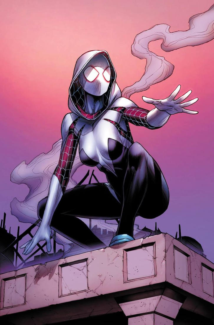 Spider-Gwen Vol 2 1 Four Color Grails Fan Expo Var by Trident346
