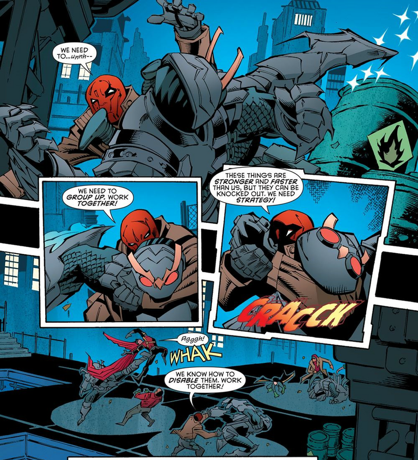 Red Hood Strength by Trident346