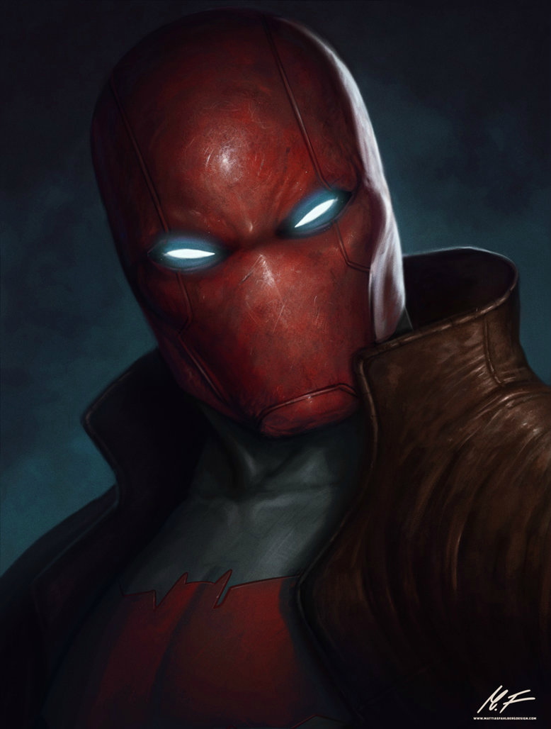 Red Hood Helmet and Armor by Trident346