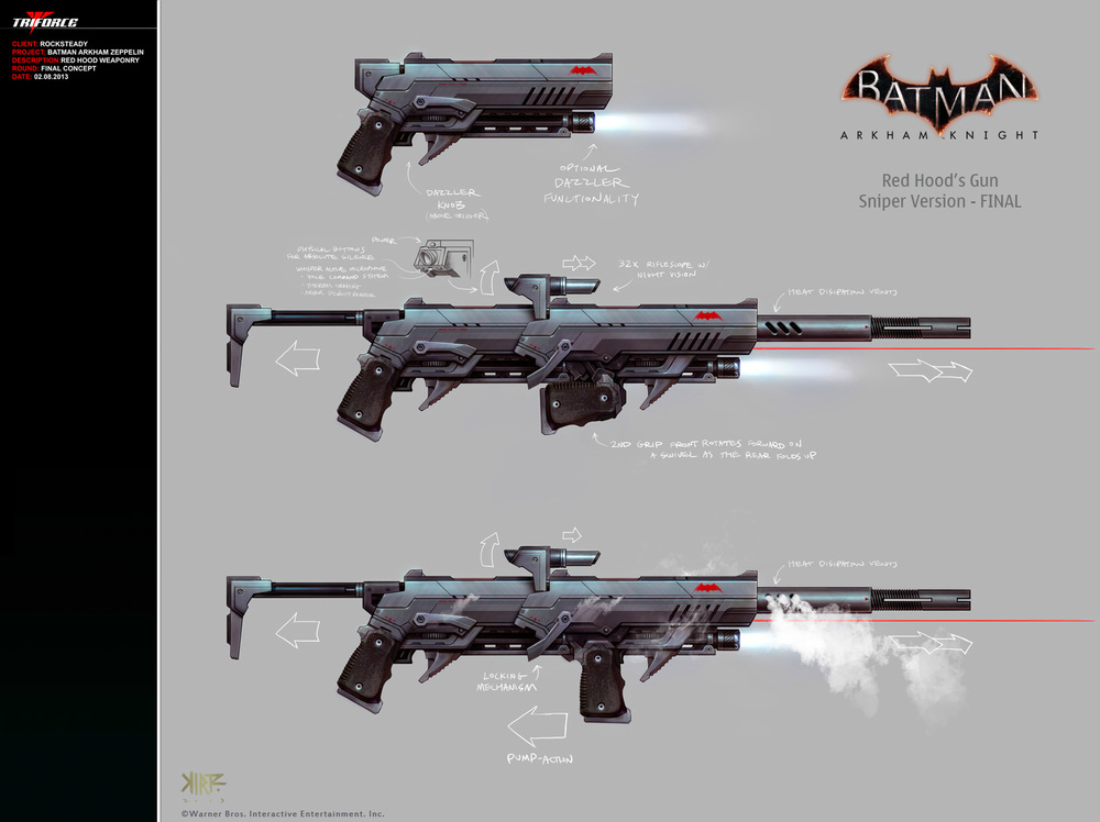 Red Hood Sniper Rifle by Trident346