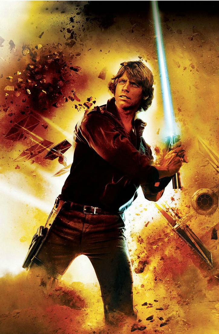 Luke Skywalker By Trident346