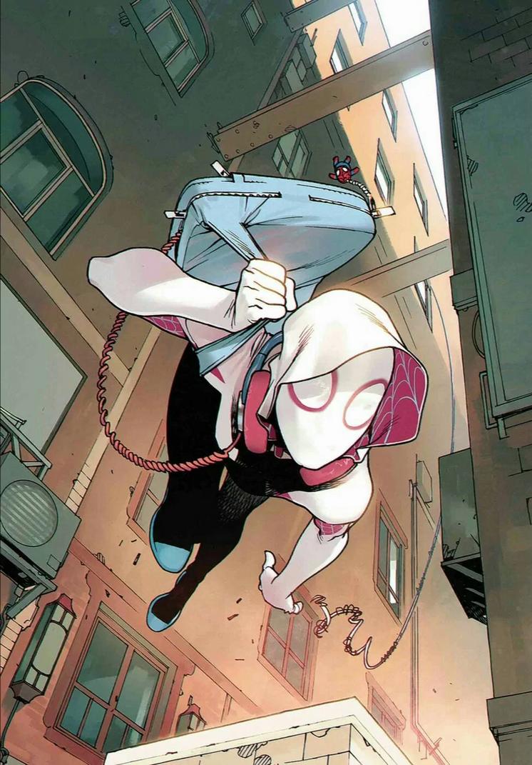 Spider-Gwen by Trident346