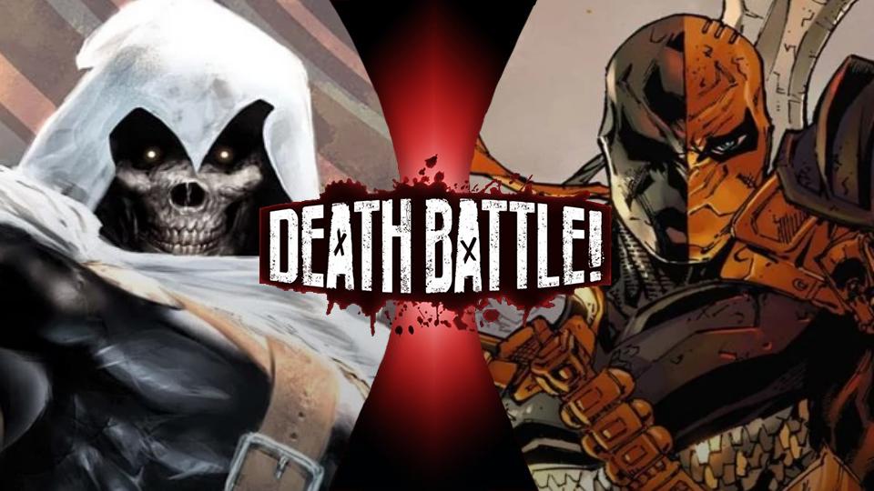 Taskmaster vs Deathstroke by Trident346