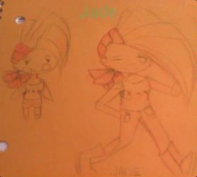 random doodles jade by mlplover4001