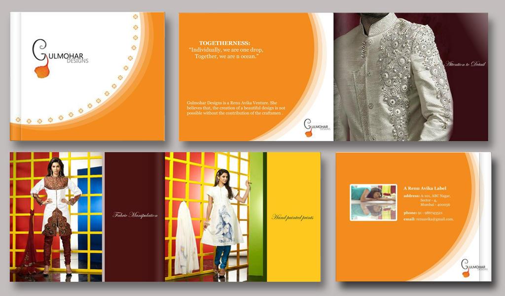 catalogue layout