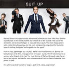 Barney Stinson celeb watch graphic by surya91