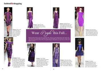 Magazine Trend spotting spread by surya91