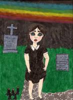 Moonbow Addams by CaitHorror