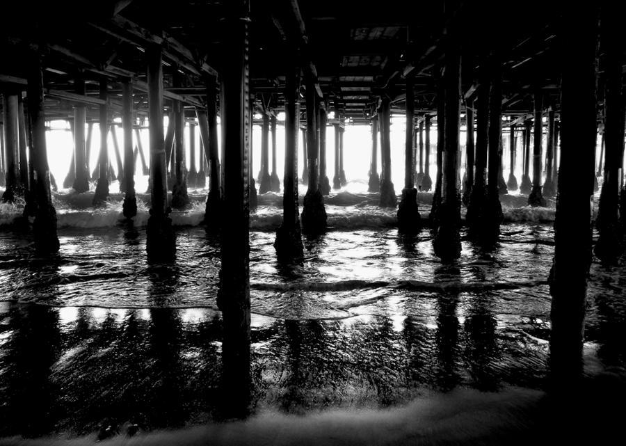 Santa Monica Pier by designing-Life