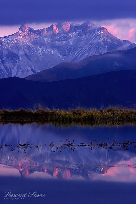Saussaz Peaks... by vincentfavre