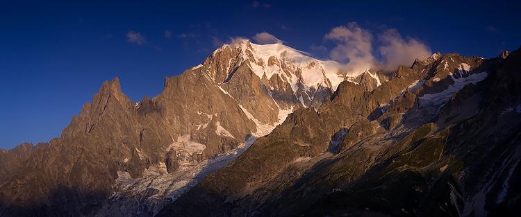 Mont Blanc, du Val Ferret by vincentfavre