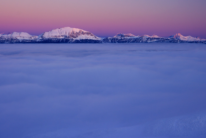 Veymont at dusk... by vincentfavre