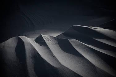 Dark snow