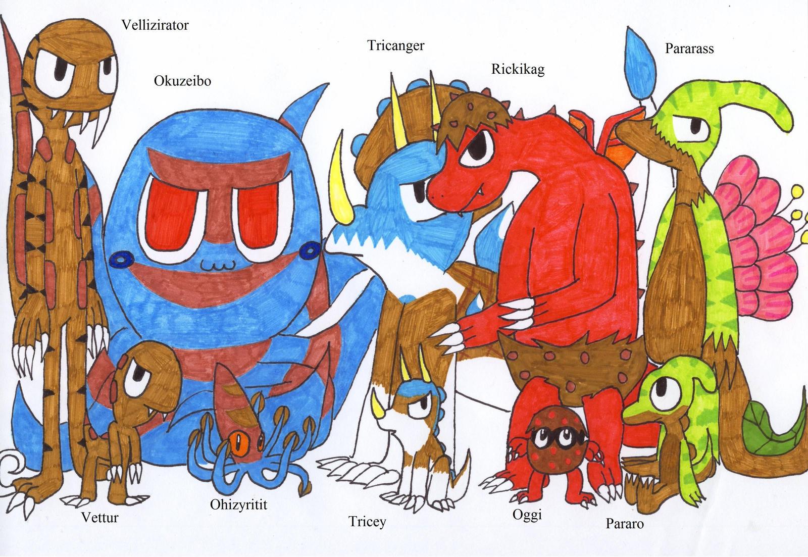 fan made pokemon. fan made fossil pokemon by andkeanka m