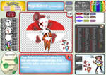 Pokemon Fairy Light and Ghost Shadow ''090'' Mega by AndkeAnka