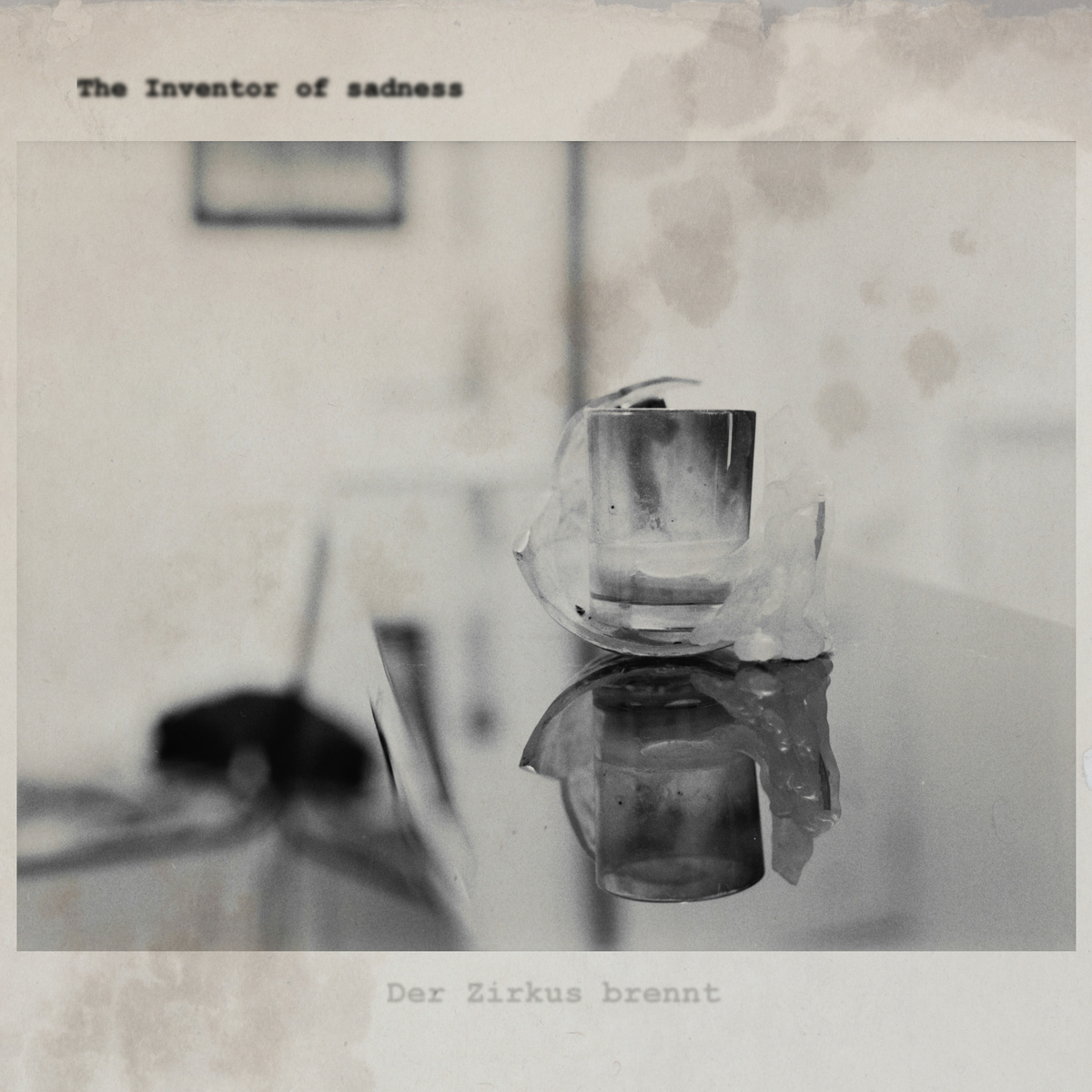 The Inventor of sadness - cover art by unevens