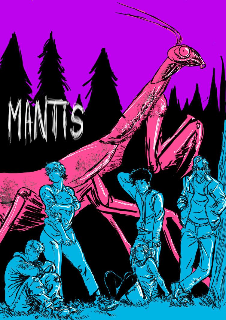 Mantis fanart by lucas-garcia
