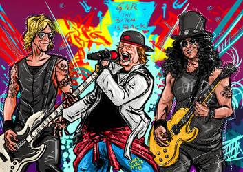 Axl Slash Duff by lucas-garcia