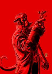 Hellboy Birthday by lucas-garcia