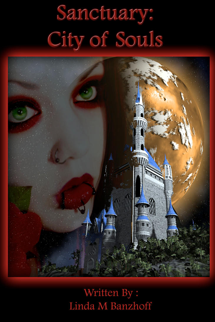 Sanctuary City of Souls :Book cover by WyckedDreamsDesigns
