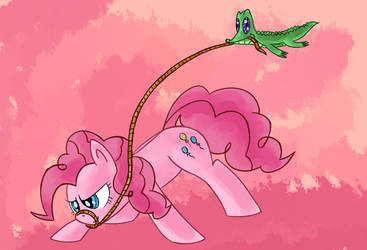 Pinkie 'n Gummy by asluc96