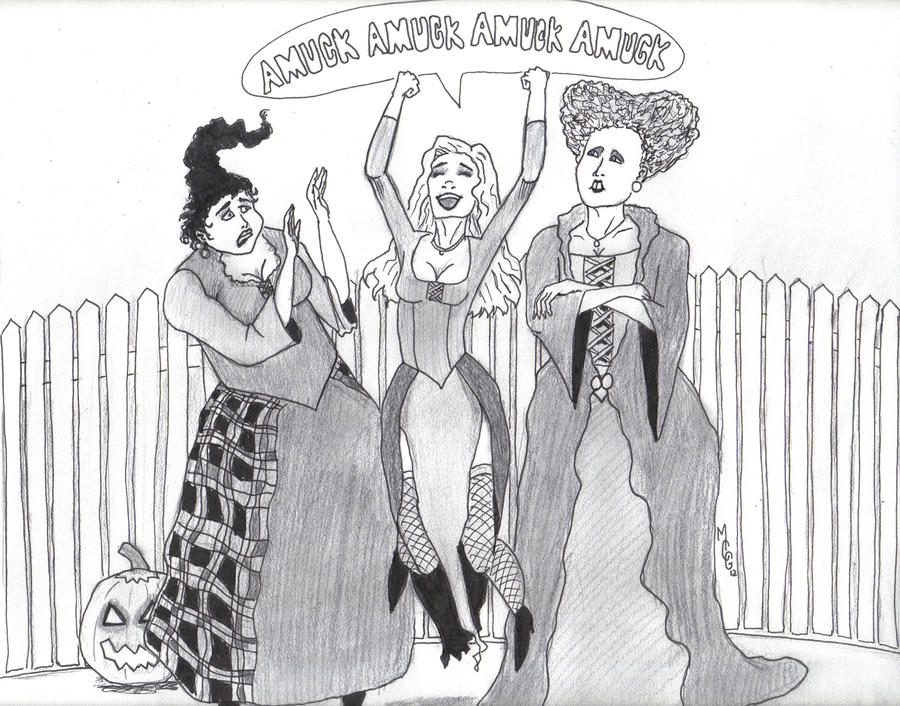 Hocus Pocus Halloween Coloring Pages For Adults