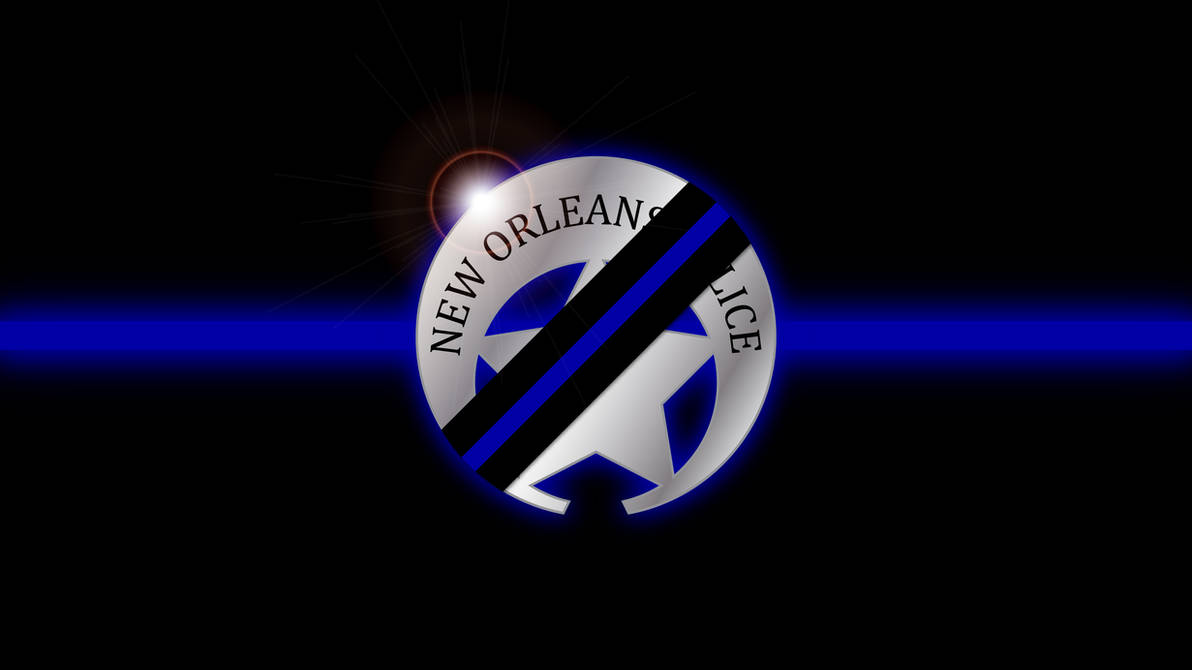 NOPD Thin Blue Line Wallpaper by tempest790 ...