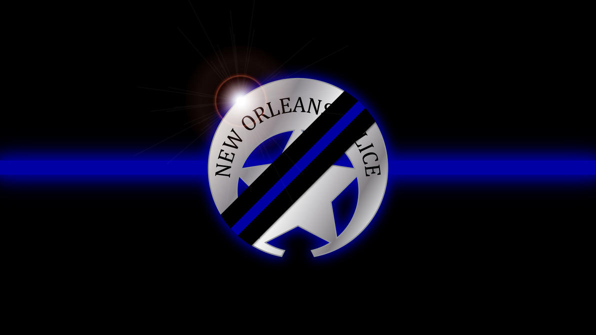 NOPD Thin Blue Line Wallpaper by tempest790