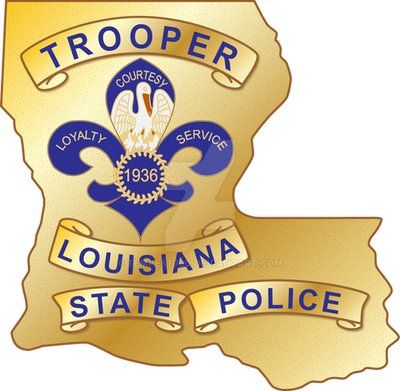 Louisiana State Police Badge by tempest790