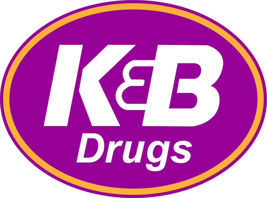 The KB Drugstore Logo by tempest790