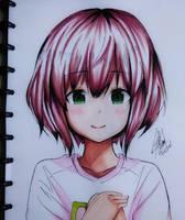 Nishimiya Shouko - Koe no Katachi by lyska27
