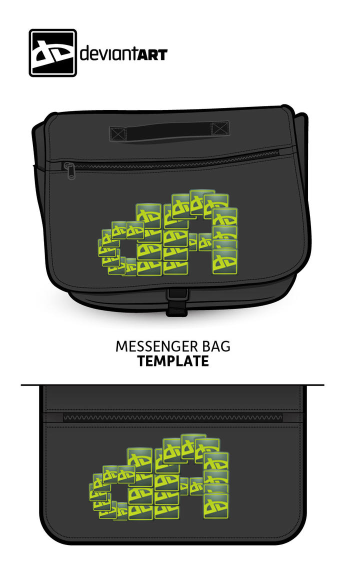 Deviant Art Messenger Bag by MHuang51491