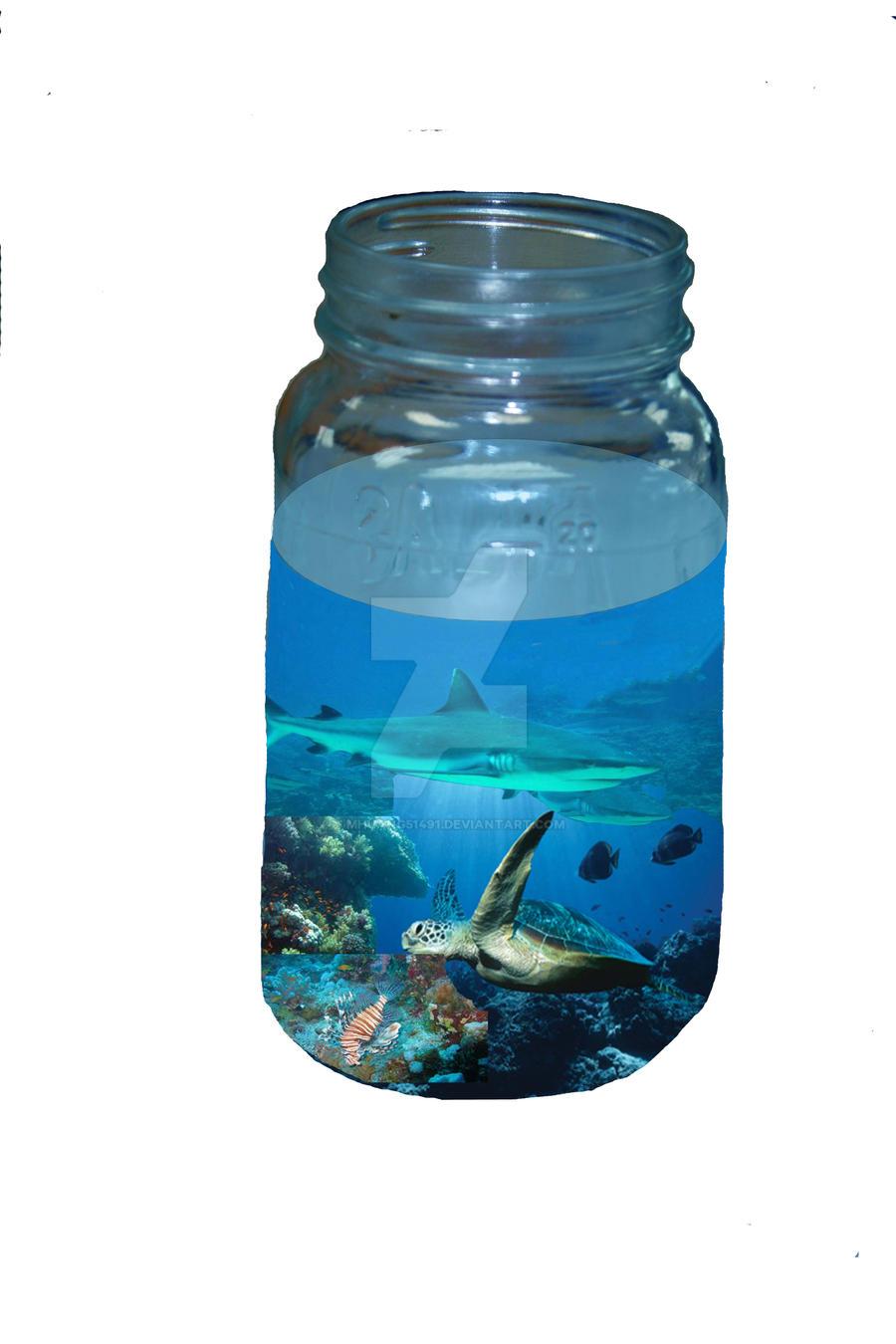 Aquarium in a Jar by MHuang51491