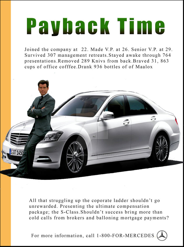 Mercedes Ad (Men) by MHuang51491