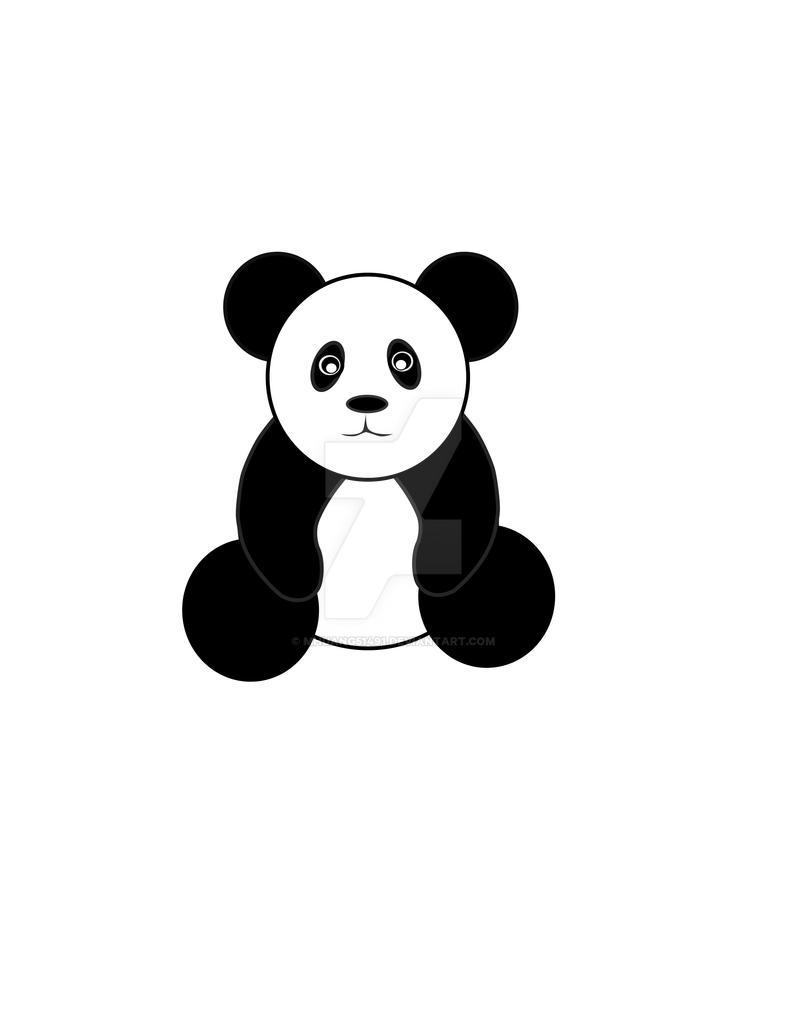 Panda Vector by MHuang51491