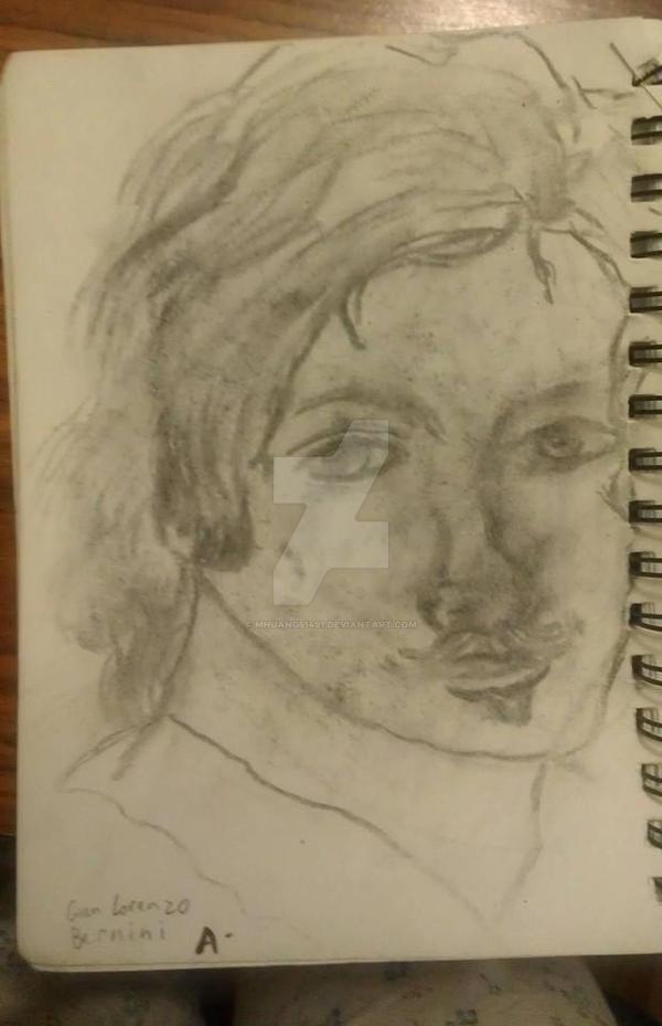 Gian Lorenzo Sketch by MHuang51491