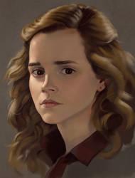 Hermione portrait by Mandilor