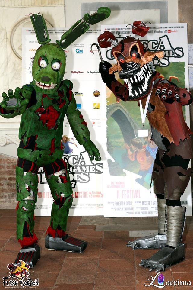 Nightmare Springtrap Costumes Springtrap U0026 Nightmare Freddy