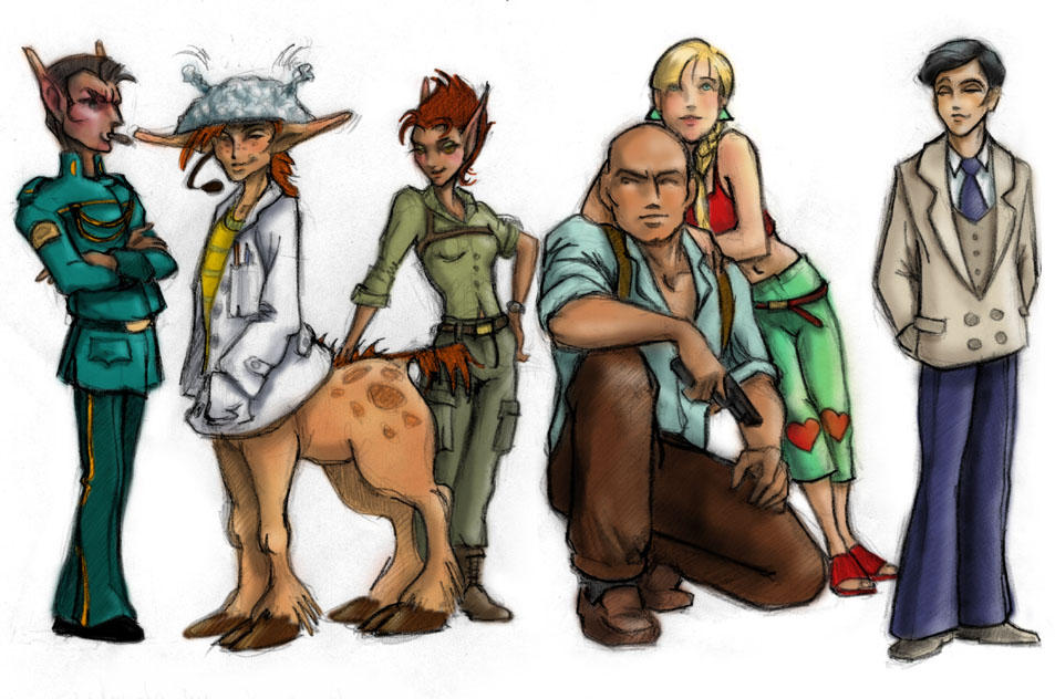 Artemis and Co. by ild...