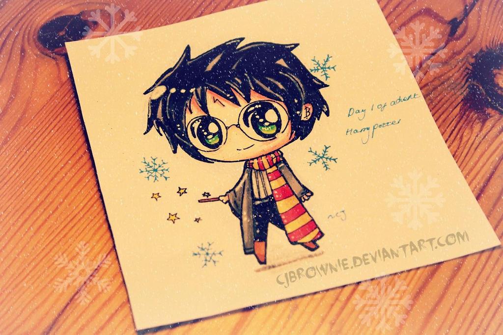 Festive Harry Potter By Cjbrownie On DeviantART